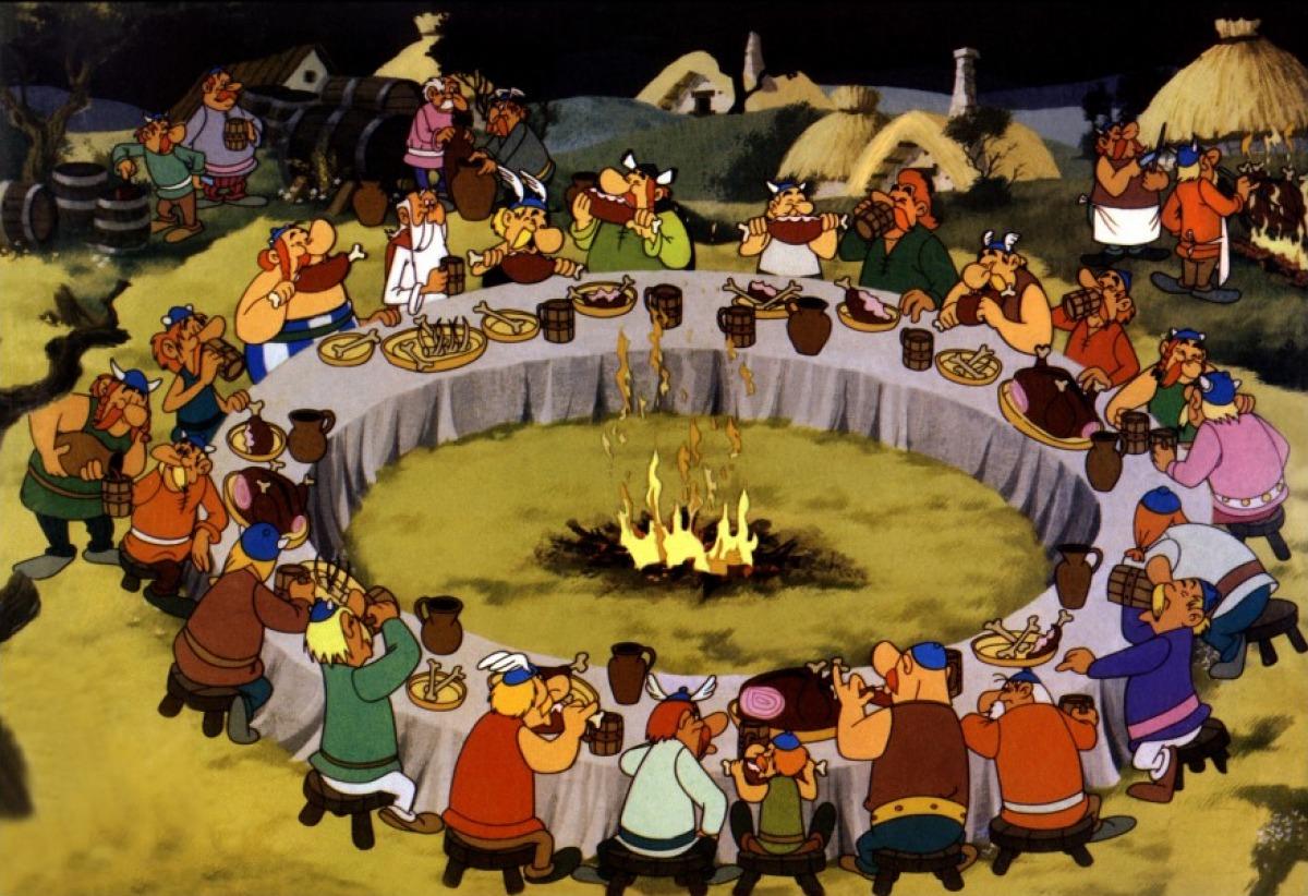 Petit banquet entre amis une sardine en chine for Menu pour un soir entre amis